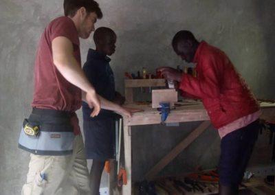 L'expansion de la formation en menuiserie au Kenya