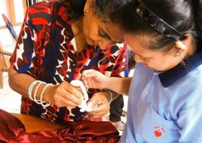 Formation professionelle pour les jeunes handicapés mentaux au Sri Lanka