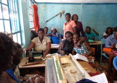 Formation professionelle pour les enfants de la rue au Kenya
