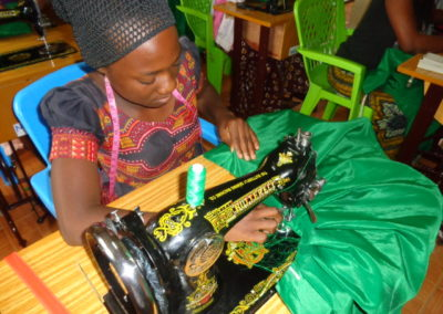 Expansion de l'atelier de couture en Tanzanie
