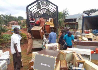 L'équipements et matériel de formation en Ouganda