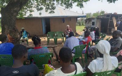 Visite de projet de Paul en Afrique de l'Est
