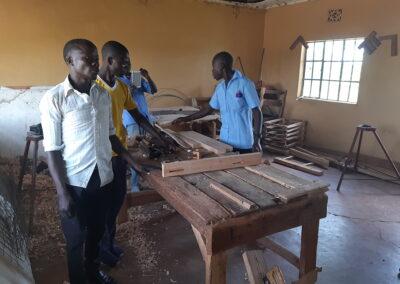Outils pour la formation professionnelle à Lambwe – Homa Bay – Kenya