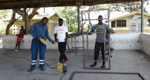 Tools for vocational training in Kendu Bay – Kenya
